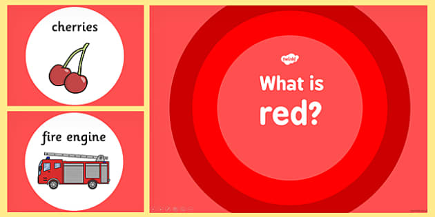 What is Red Colour PowerPoint - powerpoints, information, colours