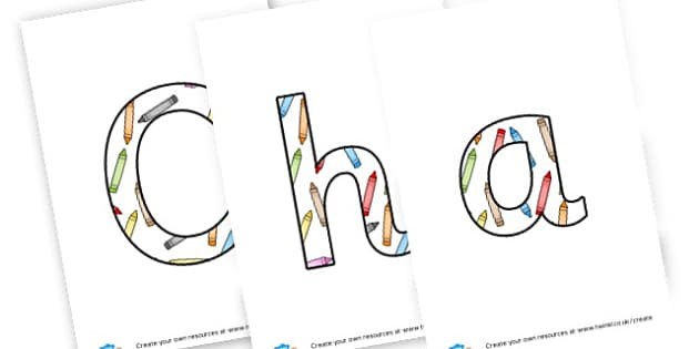 Characteristics Lettering - Assessment Characteristics of Effective Learning Primary Resource