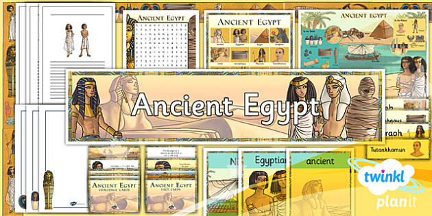 PlanIt - History LKS2 - Ancient Egypt Unit Additional Resources