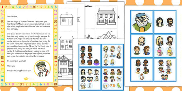 Number Families Resource Pack - number, families, resource, pack