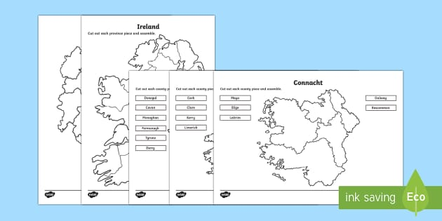 Build Ireland Jigsaw Activity Resource Pack-Australia