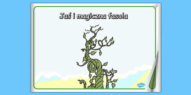 Jaś i magiczna fasola ebook po polsku -bajka, lektury - polish, books, interactive books, read