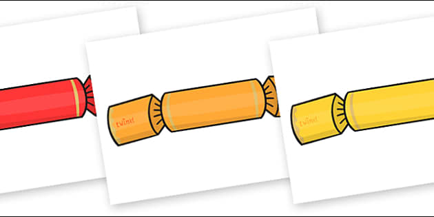 Christmas Editable A4 Crackers - editable, image, crackers, editable crackers, editable cracker images, editable image, editable picture, editable display image, display, display picture
