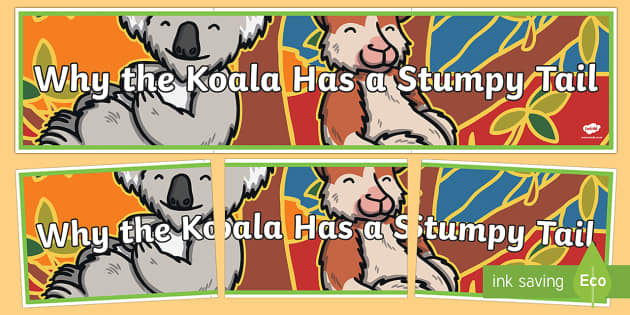 Why the Koala Has a Stumpy Tail Display Banner