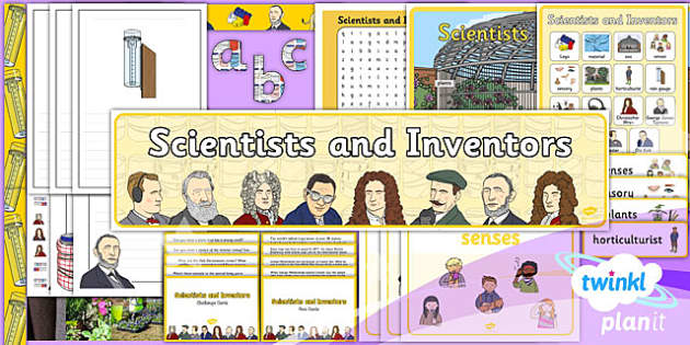 PlanIt - Science Year 1 - Scientists and Inventors Additional Resources - planit, science, year 1, scientists and inventors, additional resources
