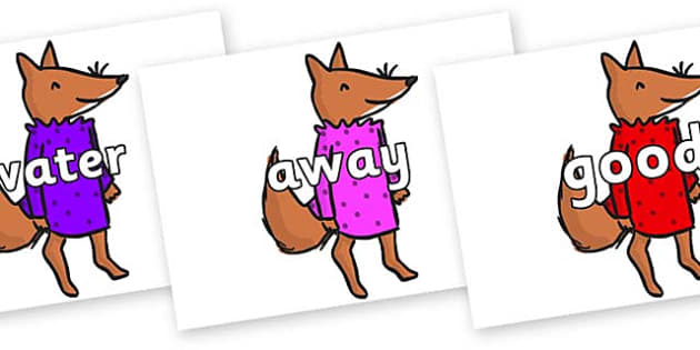 Next 200 Common Words on Small Fox 3 to Support Teaching on Fantastic Mr Fox - Next 200 Common Words on  - DfES Letters and Sounds, Letters and Sounds, Letters and sounds words, Common words, 200 common words