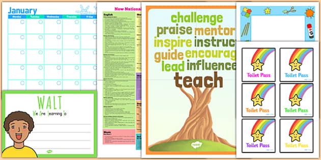Class Management Teacher Folder Complete Resource Pack - class management, teacher pack, folder pack, folders, organisation, organiser, folder organiser