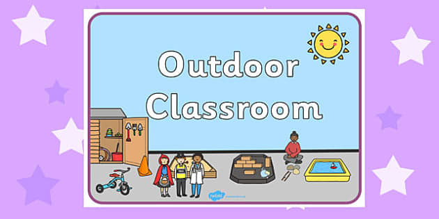 Outdoor Classroom Display Sign - signs, displays, display, poster