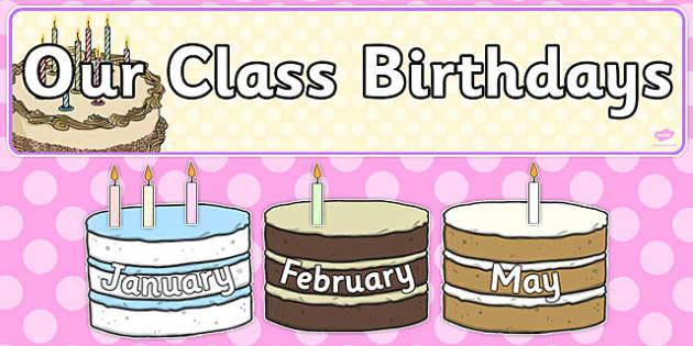 Editable Birthday Display Set Cakes - editable, birthday, display, set, cakes