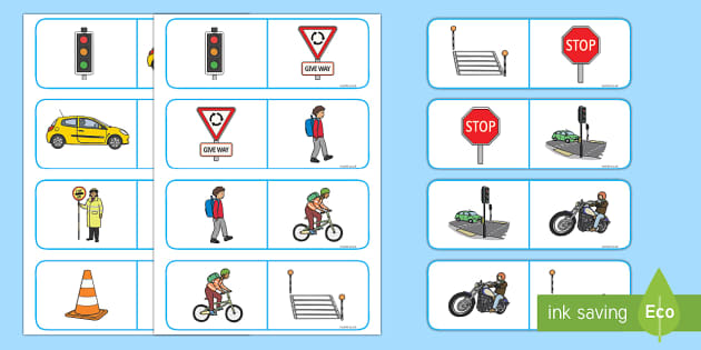 Road Safety Dominoes