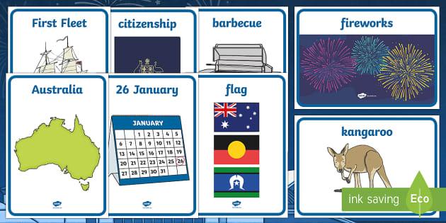 Australia Day Display Posters - australia, display, posters, day