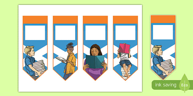 Scottish Reading Challenge Bookmarks-Scottish