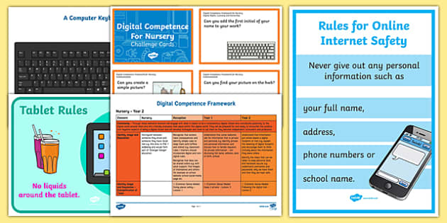 Digital Competence for Nursery Resource Pack