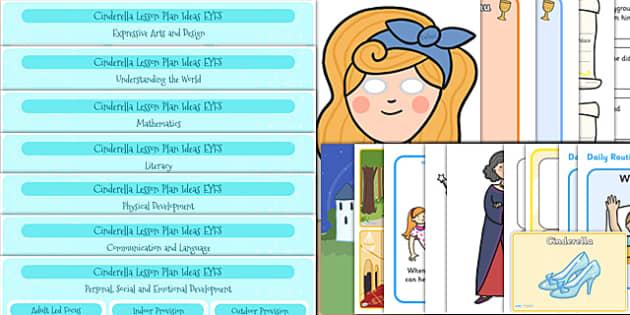 EYFS Cinderella Lesson Plan and Enhancement Ideas - EYFS, cinderella, lesson idea