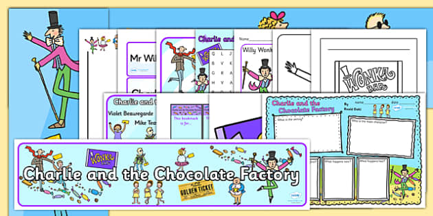 Resource Pack to Support Teaching on Charlie and the Chocolate Factory - Charlie and the chocolate factory, charlie and the chocolate factory resource pack, roald dahl