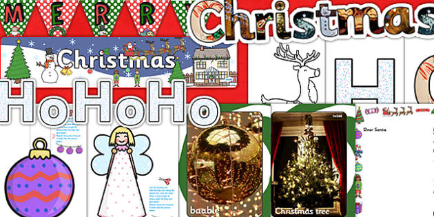 Teaching Assistant Christmas Display Resource Pack - ta, display
