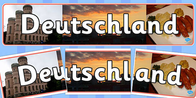 Deutschland Photo Display Banner - deutschland, photo, display banner