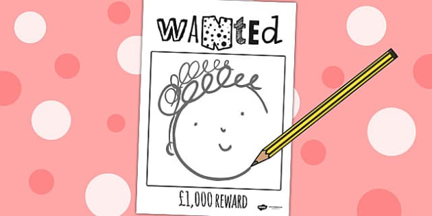Wanted Poster to Support Teaching on What the Ladybird Heard - what the ladybird heard