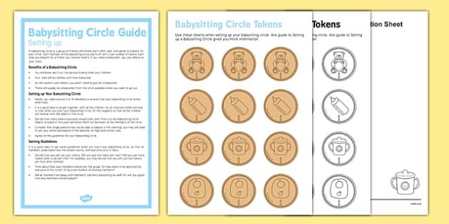 Setting up a Babysitting Circle Guide - Babysitting circle, babysitting, children