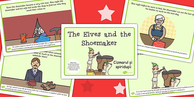 The Elves and the Shoemaker Story EAL Romanian Translation - eal