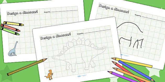 Dinosaur Park Design Sheet - dinosaur park, design sheet, dinosaur park role play, dinosaur park design sheet, dinosaur themed design sheet