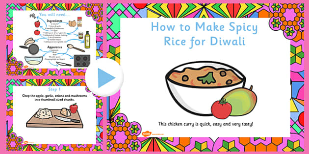 Easy Curry Diwali Recipe PowerPoint - recipes, cooking, cook