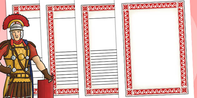 The Romans Themed Writing Frames - roman, history, romans, write