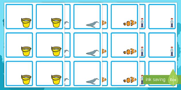 Sea Bucket Editable Drawer Peg Name Labels - billy's bucket, sea bucket, editable, edit, drawer, peg, name, labels, display