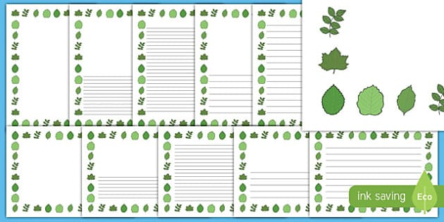 New Zealand Conservation Week Page Border Pack