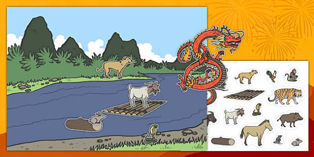 Chinese New Year Animal Sequencing Activity - chinese new year, animal, sequencing, activity