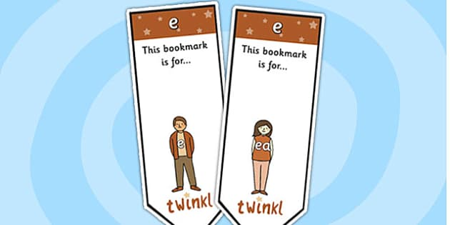 e Sound Family Editable Bookmarks - e sound family, editable bookmarks, bookmarks, editable, behaviour management, classroom management, rewards, awards