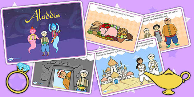 Aladdin Story - aladdin, stories, traditional tales, story books