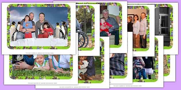 Families Photo Pack - families, photo pack, photo, pack, family