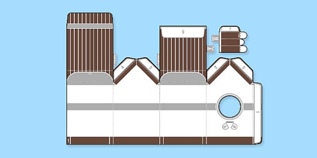 Enkl Birdhouse Printable - Enkl, arts, crafts, activity, adult, home, decor, designer, designer, decoration, interior, project, printable, cute, simple, paper, models, 3D, shape, colour, geek, clean,origami,bird,oragami,adjacent consonants, shaoe