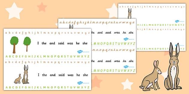 How Much Do I Love You Alphabet Strips - Much, Love, Alphabet