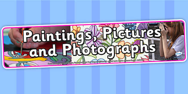 Paintings Pictures and Photographs IPC Photo Display Banner - paintings, IPC, IPC banner, paintings IPC, paintings banner, paintings IPC display