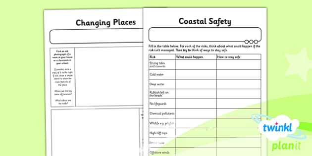 PlanIt - Geography Year 6 - Our Changing World Unit Home Learning Tasks - planit, geography, year 6, our changing world, home learning tasks