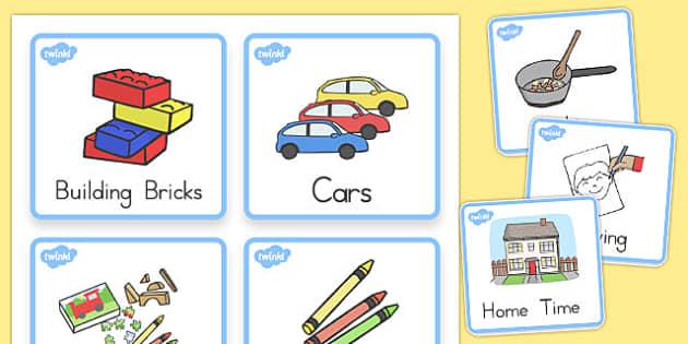 Visual Timetable For Kindergarten - kindergarten, timetable