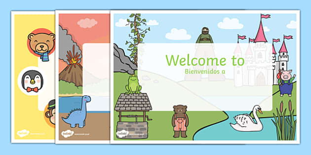 Editable Welcome Signs Spanish Translation - spanish, editable signs, welcome signs, signs and labels, welcome to our classroom, welcome to our school, make your own welcome signs