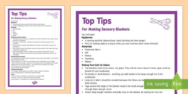 Sensory Blanket Top Tips - Sensory, blanket, baby, babies, tummy time, DIY, sewing, making, craft