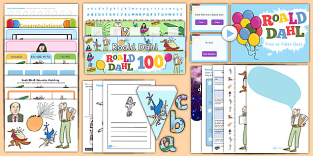 Roald Dahl 100 SEN Resource Pack