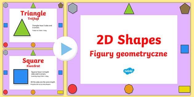 2D Shape Properties Powerpoint Polish