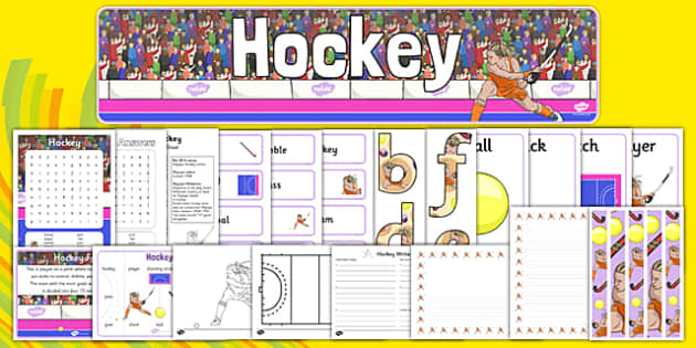 Rio 2016 Olympics Hockey Resource Pack - Hockey, Olympics, Olympic Games, sports, Olympic, London, 2012, resource pack, pack resources, activity, Olympic torch, events, flag, countries, medal, Olympic Rings, mascots, flame, compete