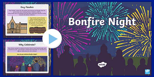 All About Bonfire Night PowerPoint - bonfire night, information powerpoint, powerpoint, bonfire night powerpoint, presentation, themed powerpoint