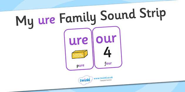 My ure Family Sound Strip - family sound strip, sound strip, my family sound strip, my ure sound strip, ure sound strip, ure family sound strip