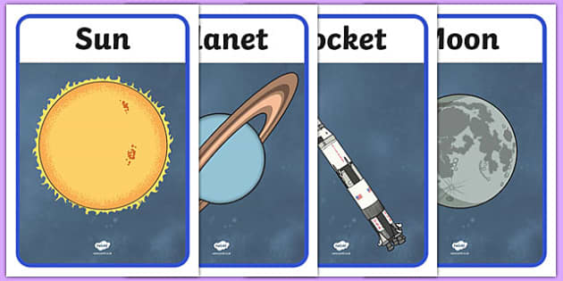Space Display Posters - space, astronaut, planets, display, poster, sign, banner, rocekt, space ship, alien, moon