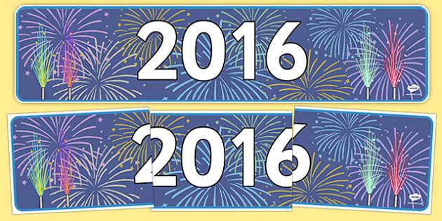 2016 Display Banner - 2016, display banner, display, banner, new year, new, year