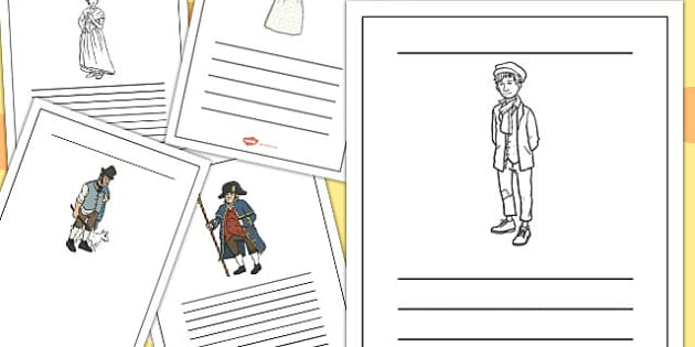 Oliver Twist Writing Frames - oliver twist, writing frames, writing