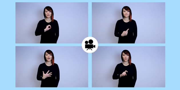 How to Sign Number 0-20 in British Sign Language Video Clip