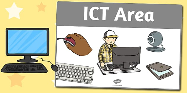 ICT Area Sign - area, sign, area sign, ict, ict area, ict sign